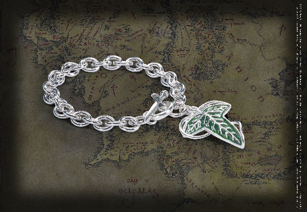 The Elven Brooch Charm Bracelet