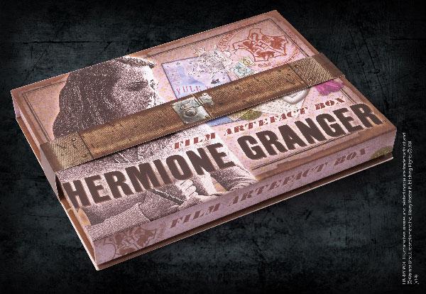 Boite d'artefacts Hermione Granger