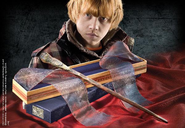 Baguette magique boîte Ollivander Ron Weasley - Harry Potter