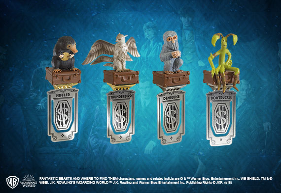 4 Fantastic Beasts Bookmarks