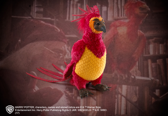 Fawkes the Phoenix Small Plush - Harry Potter
