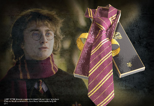 Gryffindor 100% Silk Necktie - Harry Potter