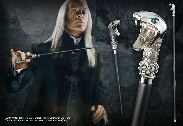Lucius Malfoy's Walking Stick - Harry Potter