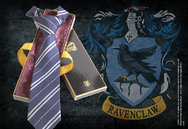 Ravenclaw 100% Silk Necktie - Harry Potter