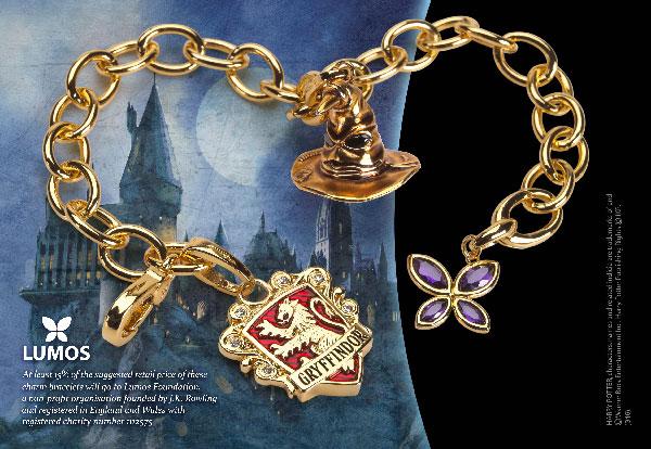 Lumos Gryffindor Charm Bracelet - Harry Potter