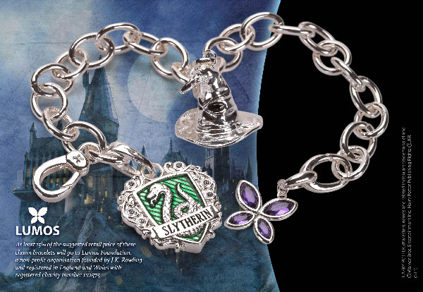 Lumos Slytherin - Charm Bracelet - Harry Potter