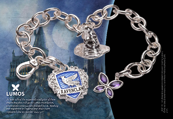 Lumos Ravenclaw - Charm Bracelet - Harry Potter