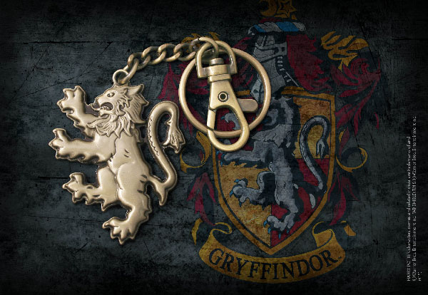 Gryffindor Lion Keychain - Harry Potter