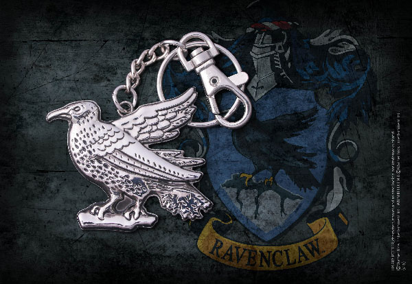 Ravenclaw raven keychain - Harry Potter