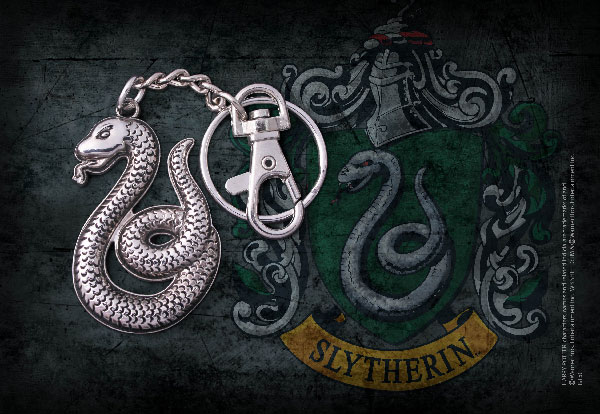 Slytherin snake Keychain - Harry Potter