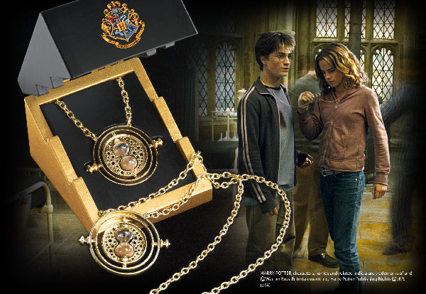 Time-Turner Sterling Silver gold plated