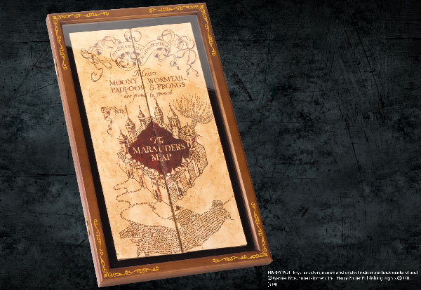 Marauders Map - Display Case