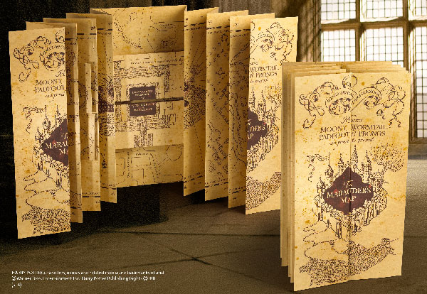 Carte du Maraudeur - Harry Potter