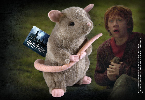 Scabbers Plush Miniature - Harry Potter