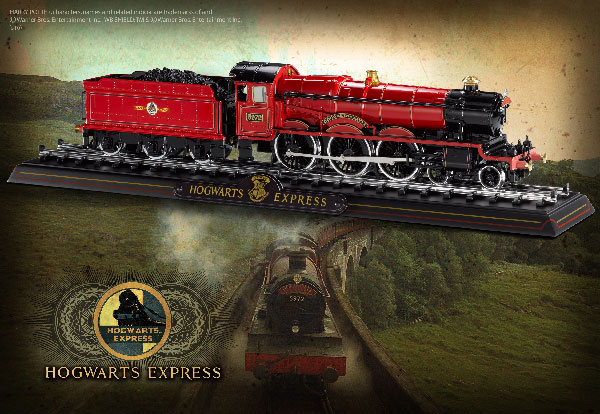 HP-Hogwarts Express Die Cast Train Model and Base