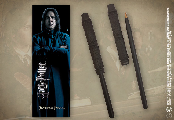 Snape Wand Pen & Bookmark