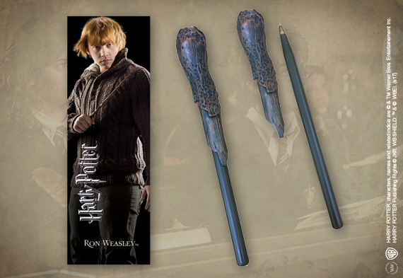 Ron Weasley Wand Pen & Bookmark
