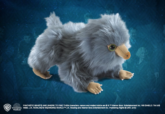 Baby Niffler plush gray - The Fantastic Beasts