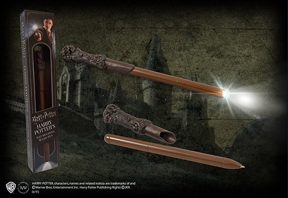 Harry Potter Illuminating Wand Pen - Harry Potter