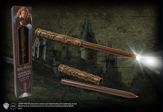 Stylo lumineux baguette magique Hermione Granger - Harry Potter