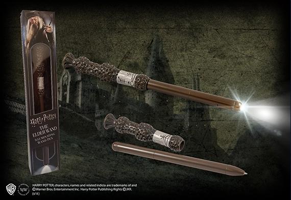 Stylo lumineux baguette magique Albus Dumbledore - Harry Potter