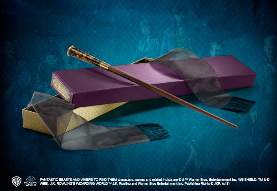 Varita magica de Theseus Scamander - Animales Fantasticos