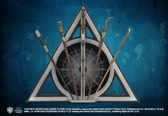 Crimes of Grindelwald Collector Wand Set