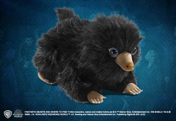 Peluche bebe Escarbato negro - Animales Fantásticos