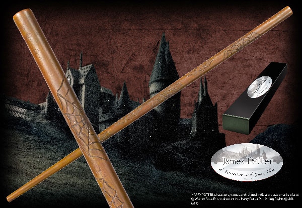 James Potter's Wand