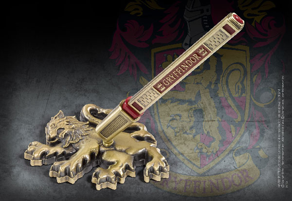 Stylo et porte stylo Gryffondor -  Harry Potter