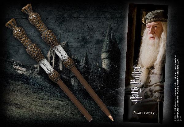 Stylo baguette & Marque-page Dumbledore