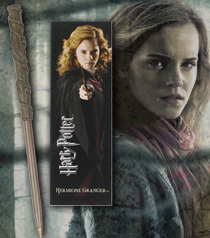 Hermione Wand Pen & Bookmark