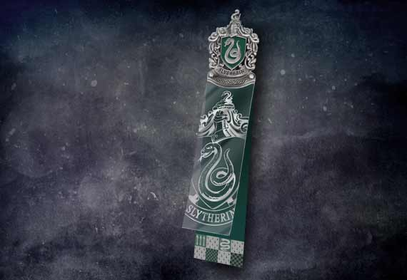 Marcapáginas Slytherin - Harry Potter