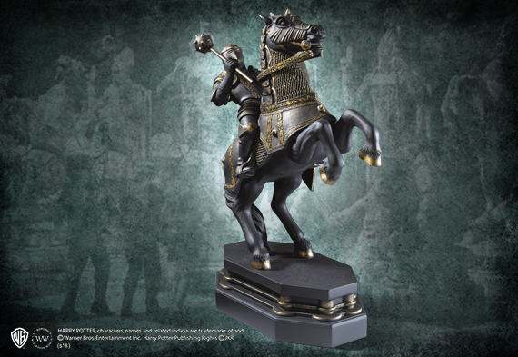 Wizard Chess Knight Bookend - Black - Harry Potter