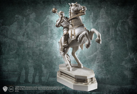 Wizard Chess Knight Bookend - White - Harry Potter
