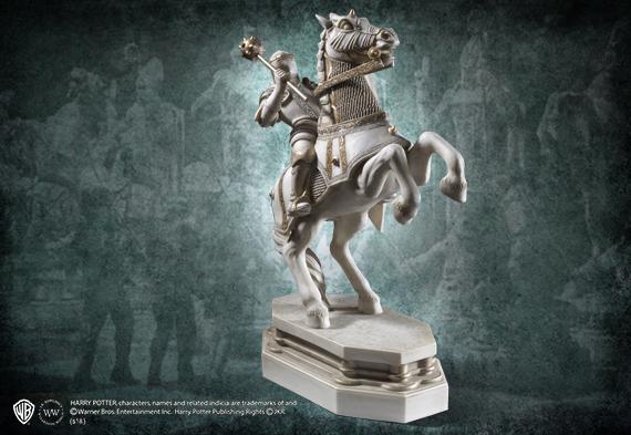 Soporte de libros Caballero blanco - ajédrez de Hechizeros - Desafio Final - Harry Potter