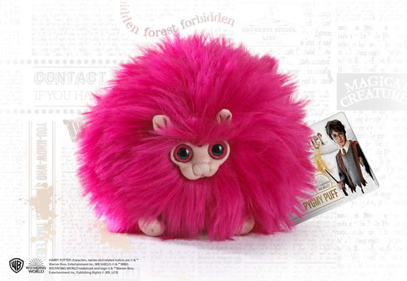 Pink Pygmy Puff Small Plush - Harry Potter