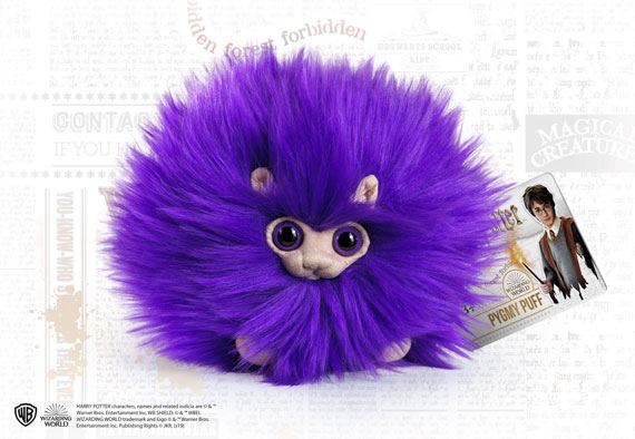 Purple Pygmy Puff Small Plush - Harry Potter