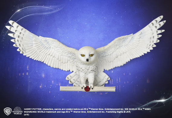 Hedwig Owl Post Wall Décor - Harry Potter