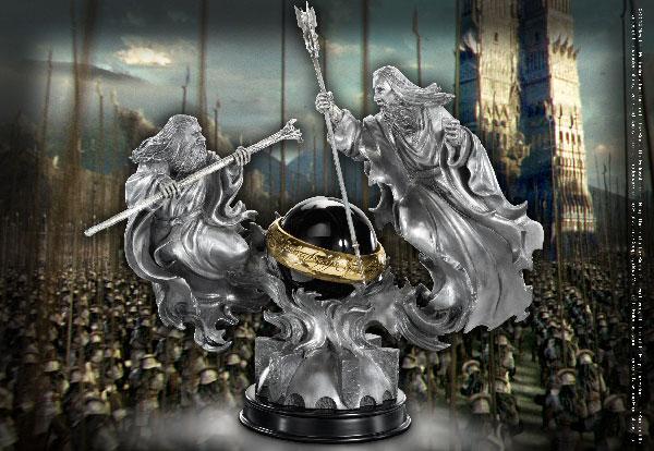 Sculpture combat des magiciens