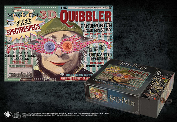 Puzzle - The Quibbler Magazine Cover