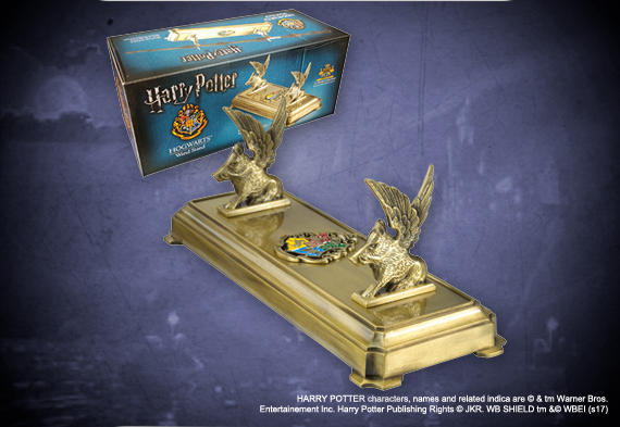 Hogwarts wand display - Harry Potter