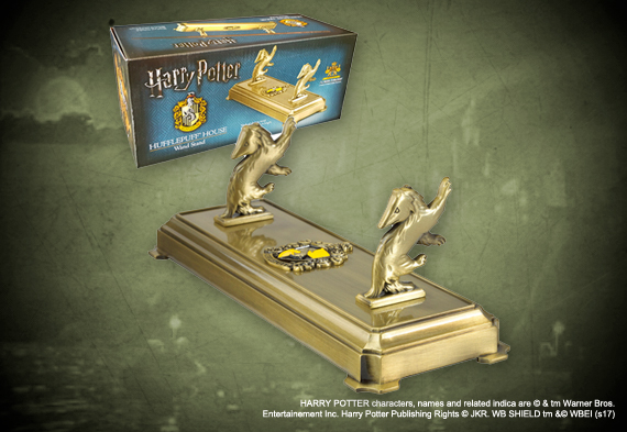 Hufflepuff wand display - Harry Potter