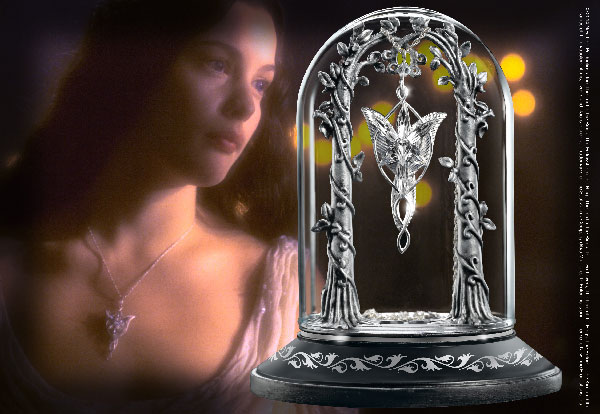 Arwen - The Evenstar - Pendant Display - The Lord of the Rings