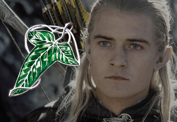 Replica - Leaf of Lorien - brooch - The Lord of the Rings