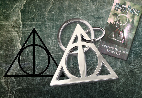 Deathly Hallows Keychain