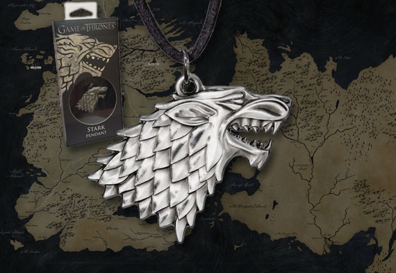 GOT - STARK colgante - replica