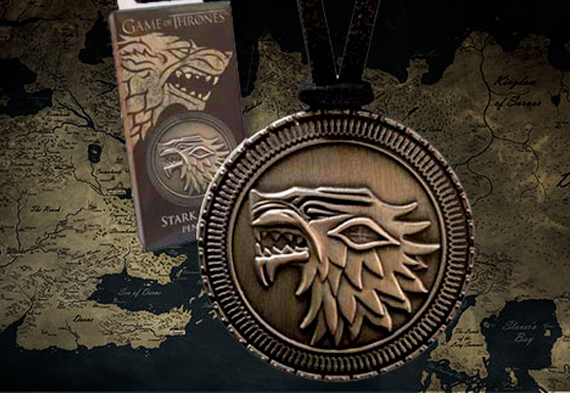 Game of Thrones - Stark Shield Pendant (costume)