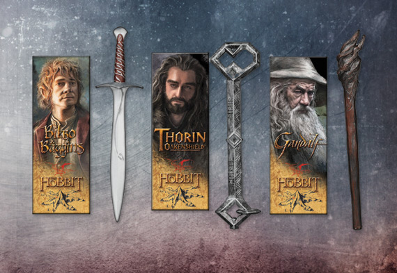 Collection marques pages Le Hobbit
