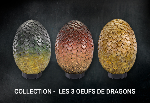 Collection oeufs de dragons